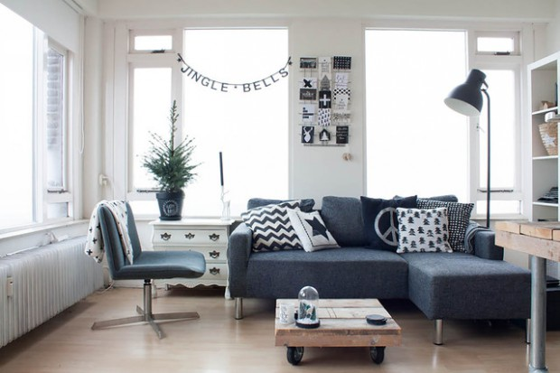 18 Light and Stylish Scandinavian Living Room Designs