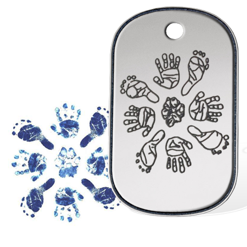 Dogtag hands and feet