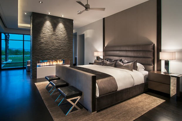Stunning Contemporary Master Bedroom Design Ideas Style