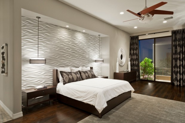 18 Stunning Contemporary Master Bedroom Design Ideas Part 2