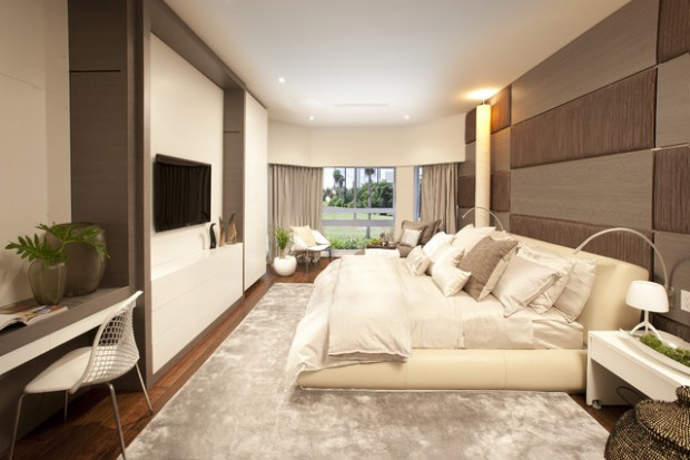 18 Stunning Contemporary Master Bedroom Design Ideas Part 53