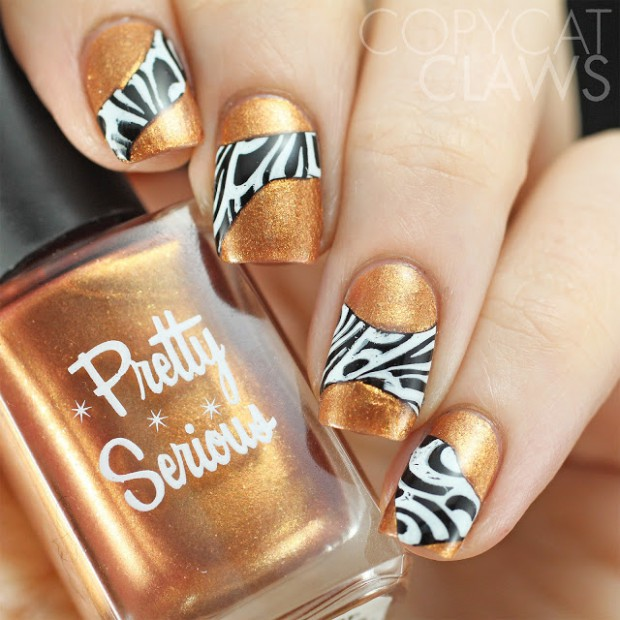 Fashion Inspired Nail Art: 20 Gorgeous Nail Designs