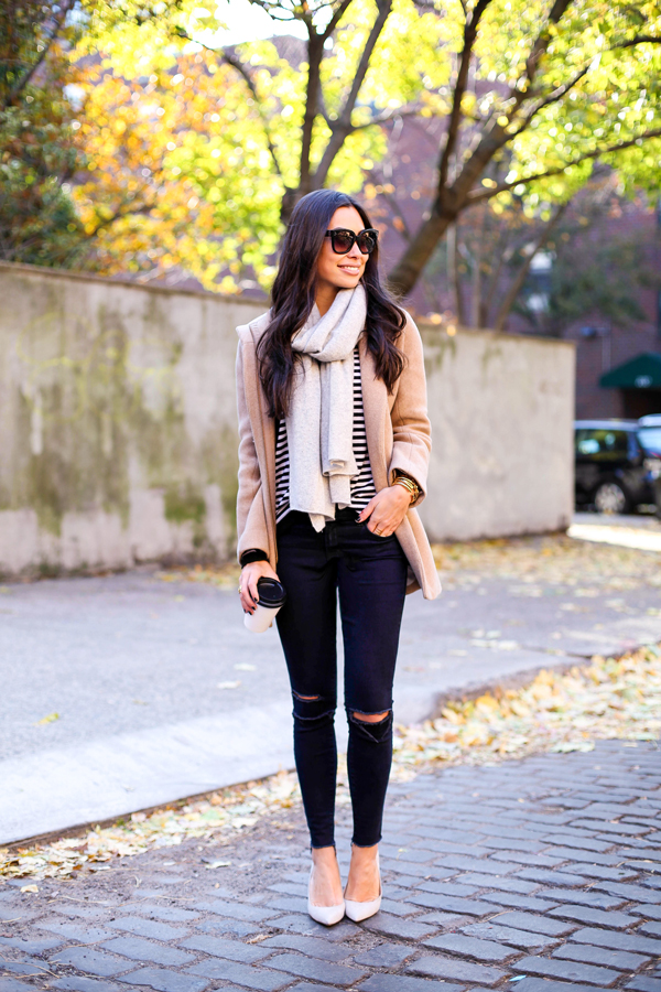 18 Street Style Outfit Ideas with Ripped Jeans