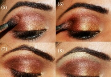 16 Easy Step By Step Tutorials to Teach You How To Apply Make-Up Like A Pro - step by step, makeup tutorials, makeup like a pro, Makeup Ideas, Eye-Makeup