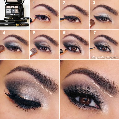 ... 16 easy step by step tutorials to teach you how to apply make up like a ...