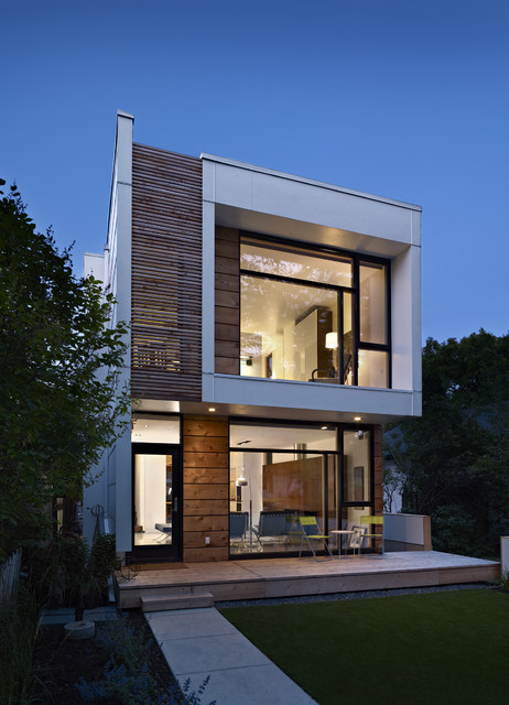 modern exterior 17 - 11+ Exterior Design For Small Houses Gif