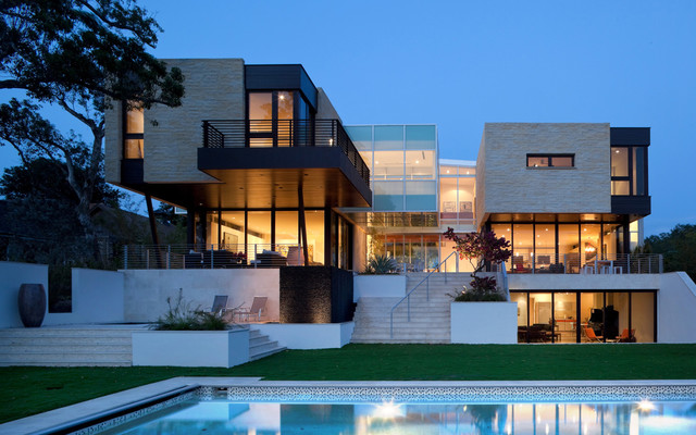 Modern Mansion Exterior 22 modern residences with classy exterior designs - style motivation