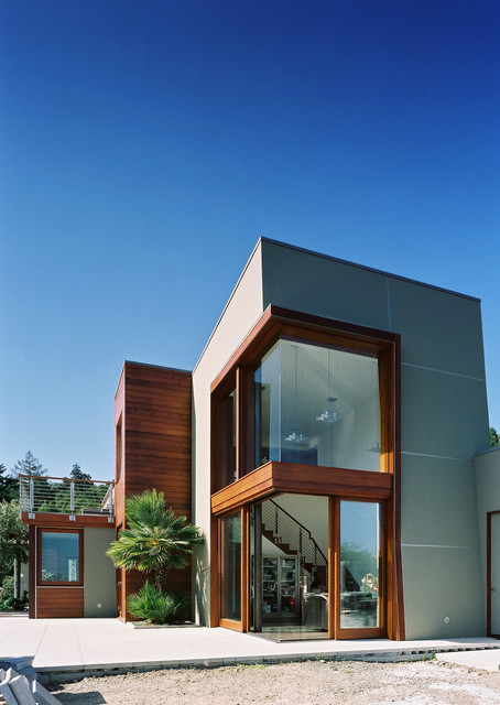 22 Modern Residences with Classy Exterior Designs