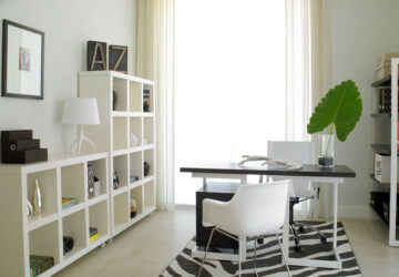Working from Home in Style: 20 Modern Home Office Design Ideas - office organization, modern home office, home office ideas, Home office