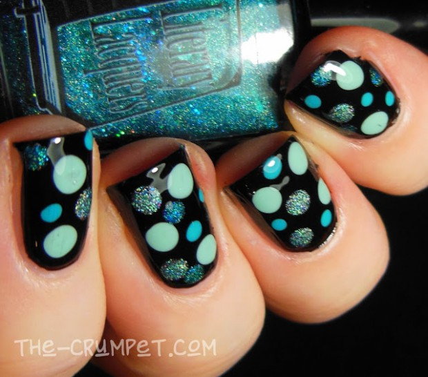20 Amazing Nail Art Ideas Created with Turquoise and Aqua Colors