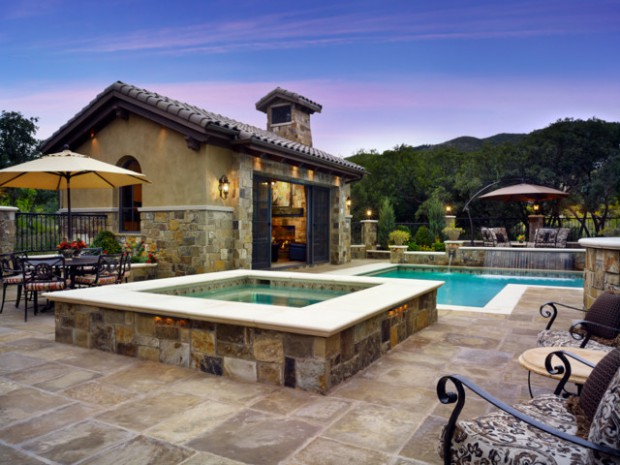 17 Stunning Pool Design Ideas for Mountain Houses