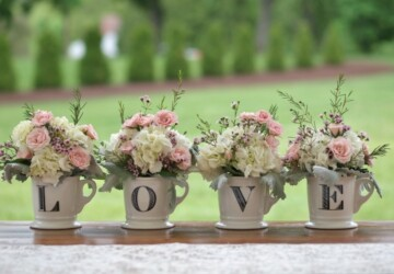 18 Amazing Decor Ideas for Romantic Spring Wedding - spring wedding decor, spring wedding, floral wedding decor, floral wedding