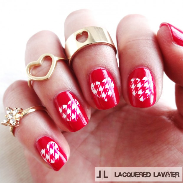18 Pretty and Cute Nail Art Ideas for Valentine's Day