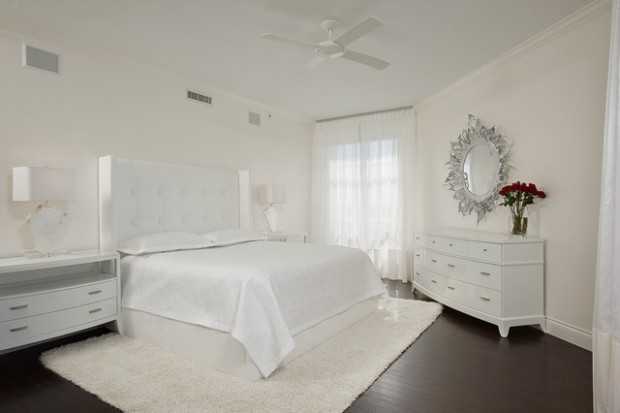 16 Gorgeous White Bedroom Design Ideas