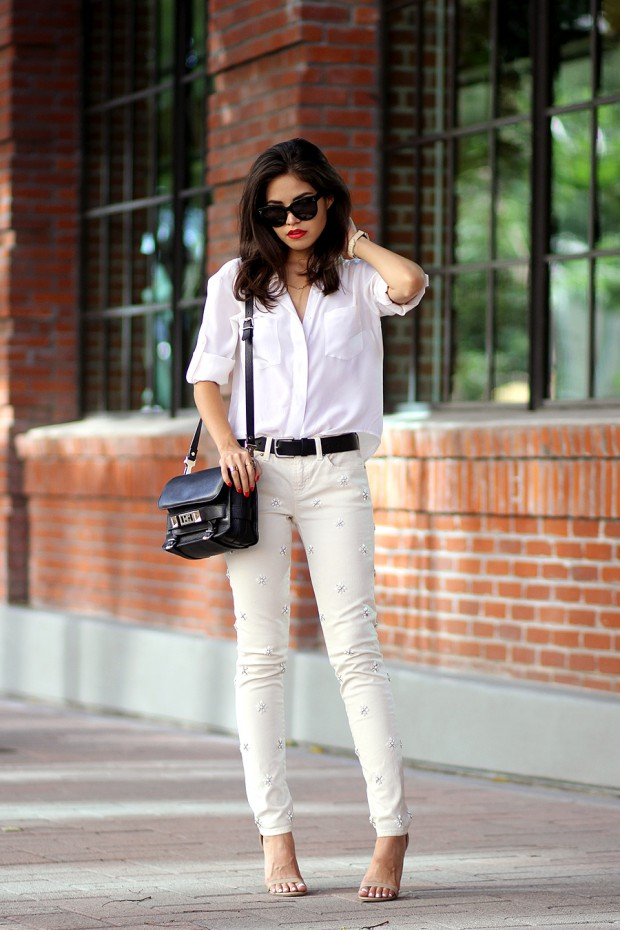 Basic Wardrobe Essentials: 20 Ways to Style White Shirt