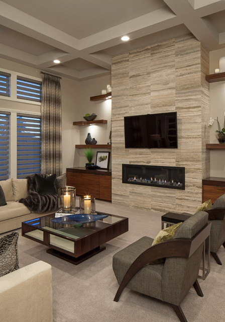 18 Stunning Contemporary Living Room Designs in Neutral, Beige and Brown Tones