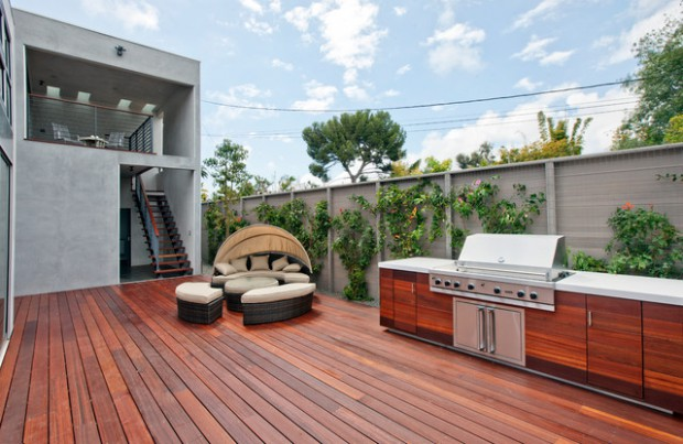 18 Small Backyard Deck Design Ideas