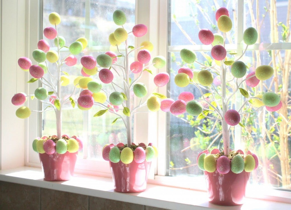 17 creative and easy diy easter home decorations style for Diy easter decorations home