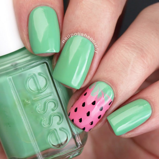 Food Inspired Nails  17 Adorable Nail Art Ideas that Look Really Sweet