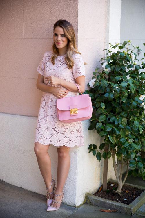 Lace Dress for Romantic Spring Look  20 Lovely Outfit Ideas