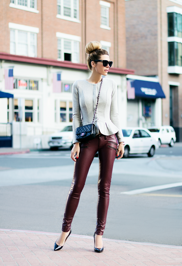 17 Ways to Style Leather Pants This Spring (part 1)