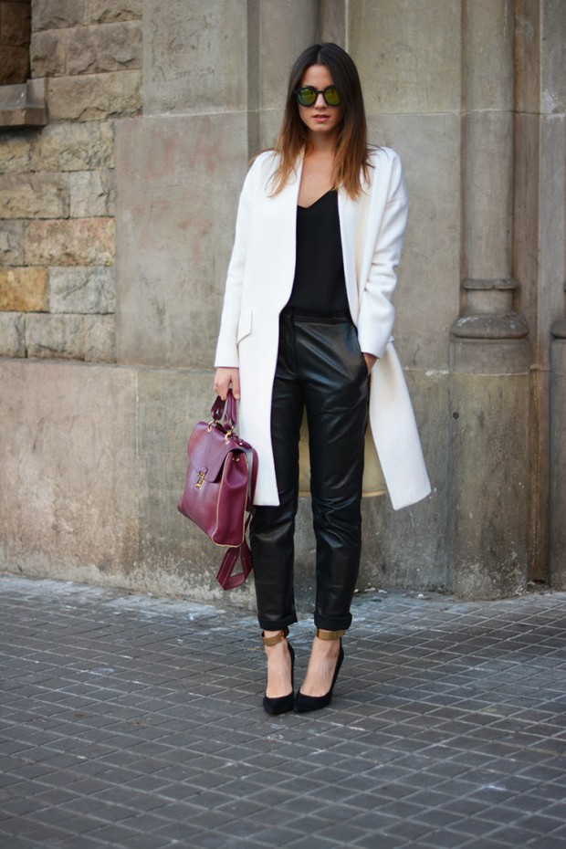 17 Ways to Style Leather Pants This Spring (part 2)