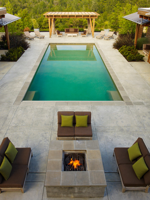 20 Stunning Backyard Fire Pit Patio Design Ideas