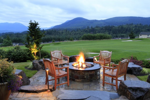 20 Stunning Backyard Fire Pit Patio Design Ideas Style Motivation