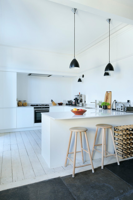 17 Modern Scandinavian Kitchen Design Ideas