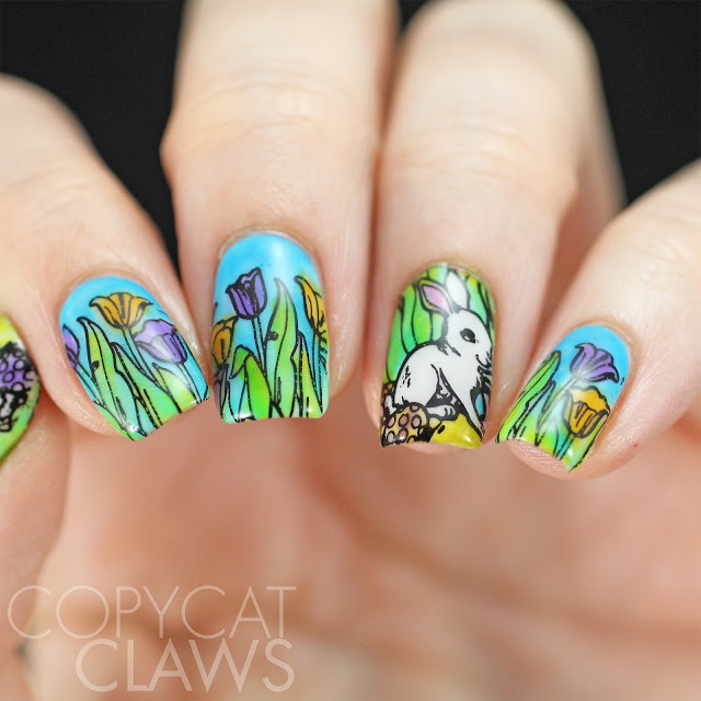 Nail Art Inspired by Spring: 18 Gorgeous Nail Designs - Style Motivation