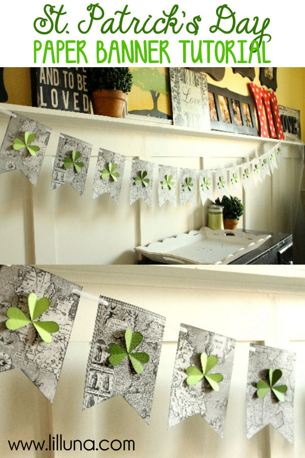 15 Amazing DIY Ideas for St. Patrick's Day Garlands and Banners