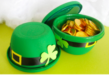 16 Fun and Easy St. Patrick's Day Crafts For Kids - St. Patrick's Day Crafts For Kids, St. Patrick's Day Crafts, St. Patrick's Day, Diy St. Patrick's Day Decorations, Crafts For Kids