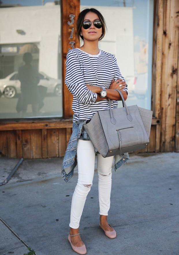 Stripes for Spring  16 Cute Outfit Ideas