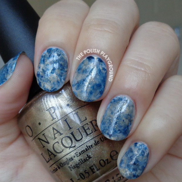 19 Creative DIY Water Marble Nail Art Ideas