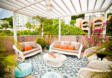 20 Great Furniture Ideas for your Outdoor Living Space - porch furnitoure, patio furniture, outdoor living room, outdoor furniture