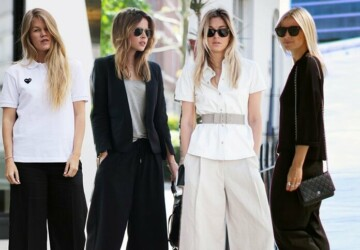 Office & Work Fashion Essentials - Work, wide-leg culottes, striped pencil skirt, sleeveless jacket, romantic staples, office, fashion, classic trench, a-line skirt