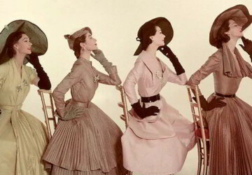 Vintage Occasionwear: Women's Fashion Through the Ages - woman, vintage, fashion