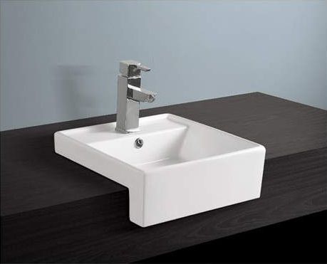 Semi Recessed Basin. 5 Types Of Sink And When To Install Them