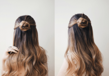 16 Cute and Easy Ideas and Tutorials for Hairstyles you Should Try This Spring - spring hairstyles, Hairstyles, easy hairstyles, diy hair