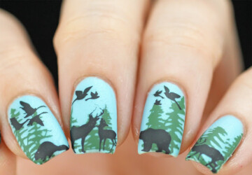 16 Cutest Animal Nail Art Ideas - nail design, nail art ideas, cute nail art, animal nail art