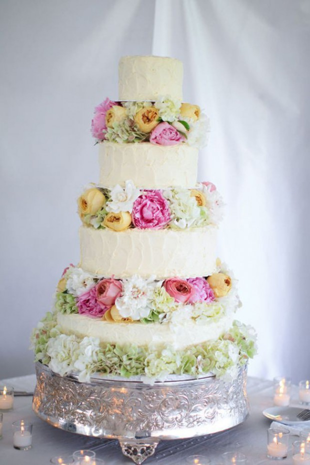 15 Lovely Spring Wedding Cake Decorating Ideas - Style Motivation