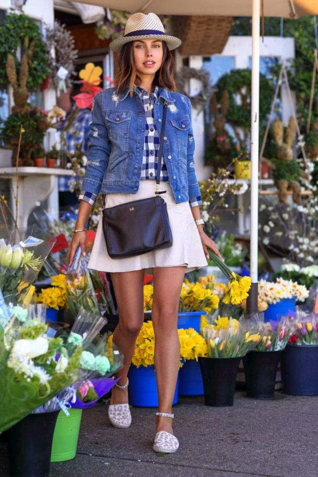 How to Style Denim Jacket this Spring: 20 Stylish Outfit Ideas (part 2)
