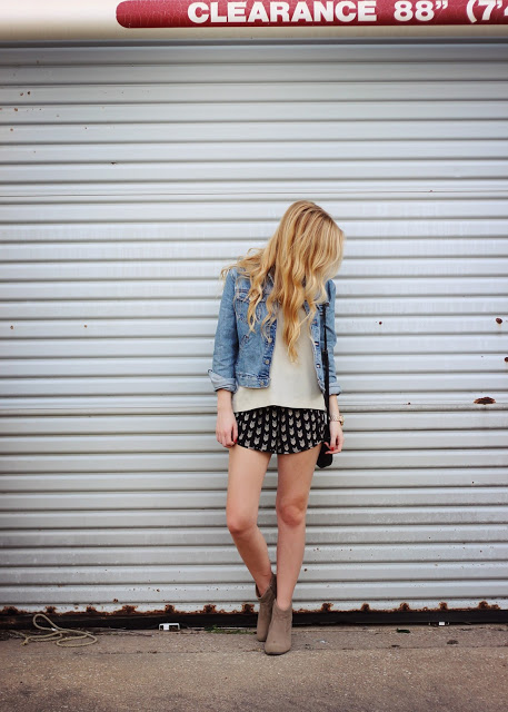 How to Style Denim Jacket this Spring: 20 Stylish Outfit Ideas (part 1)