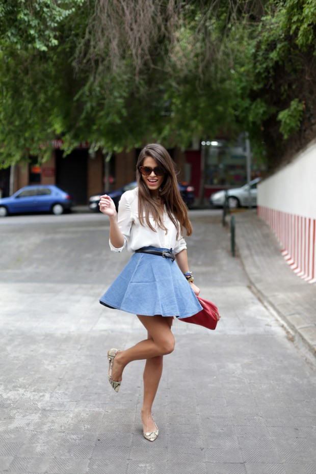 How to Style Your Favorite Flats this Spring: 18 Cute Everyday Outfit Ideas (part 1)