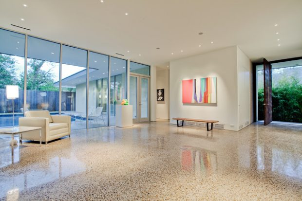 18 Stunning Polished Concrete Flooring Interiors Design Ideas