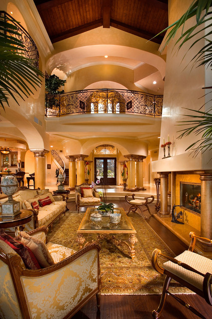 20 Luxurious Living Room Design Ideas in Mediterranean Style