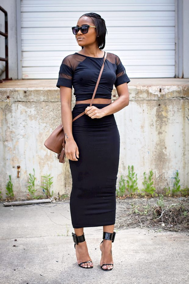 17 Stylish Ways to Wear Midi Skirt This Spring