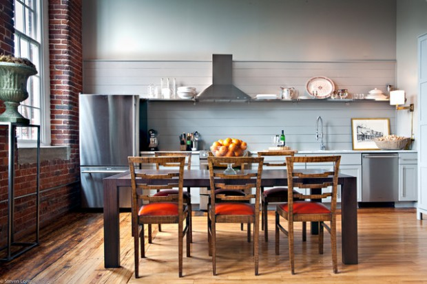 20 Efficient And Gorgeous One Wall Kitchen Design Ideas