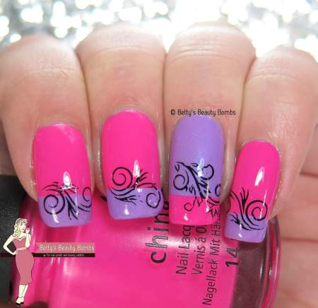 15 Amazing Nail Art Ideas Created with Pink and Lilac Nail Polishes