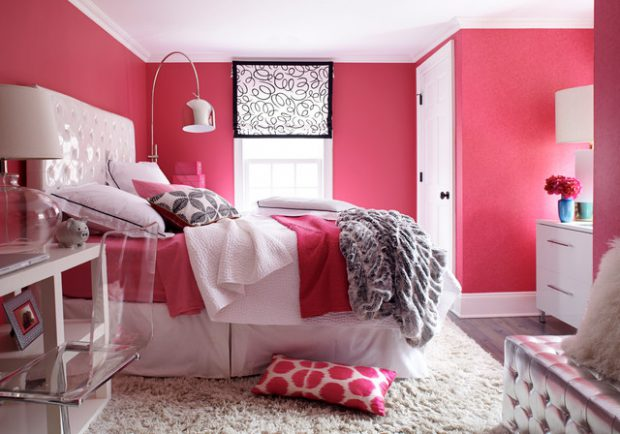 Pretty in Pink  18 Stylish Girl Bedroom Design Ideas